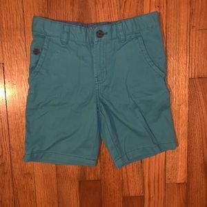 3/$15 Boys Size 7 Teal Shorts Never Worn